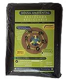 Bolsa de Plastico Negra para Basura Premium. Pack de 100 bolsas Negras Premium de Plastico para Basura tamaño 90x120…