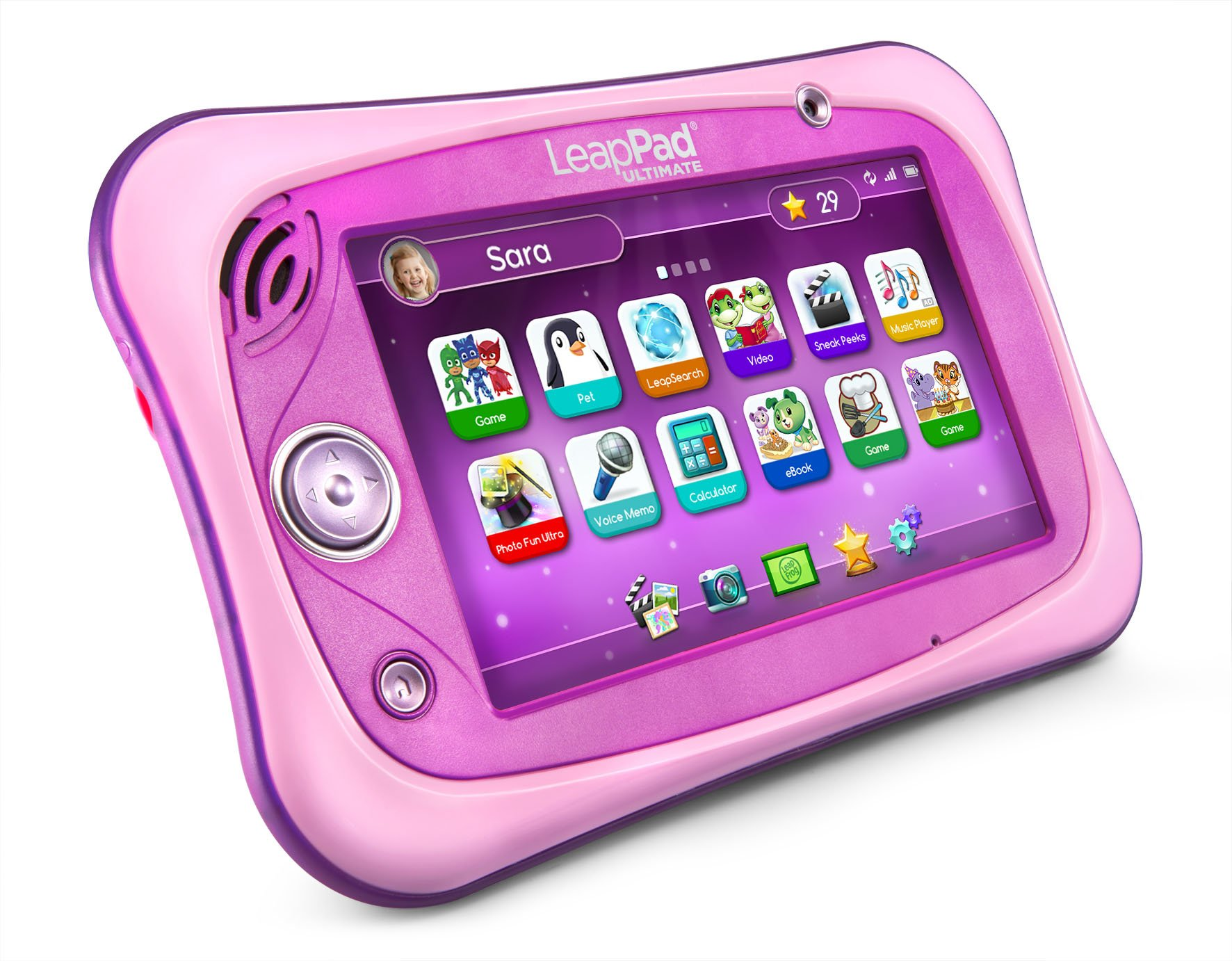 LeapFrog LeapPad Ultimate Ready for School Tablet, Pink by LeapFrog (Image #1)