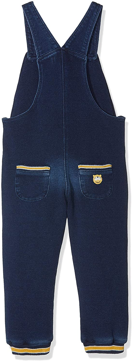 boboli Dungarees Fleece Denim For Boy Mono para Ni/ños