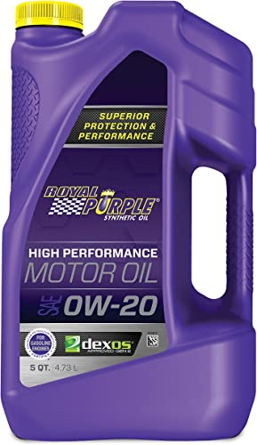 Royal Purple 51020 API-Licensed SAE 0W-20 High Performance Synthetic Motor Oil