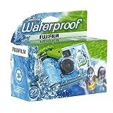 Fujifilm Quick Snap Waterproof 27 exp. 35mm Camera 800 film,Blue/Green/white,1 Pack