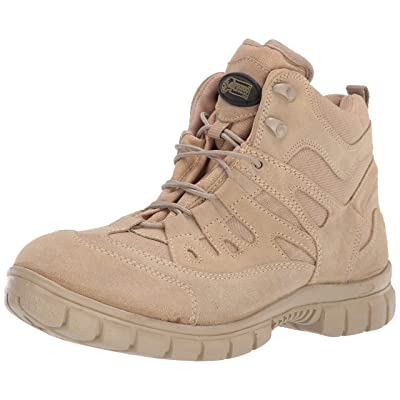 VOODOO TACTICAL 04-9680 Low Cut 6-Inch Desert Tan Boot: Sports & Outdoors