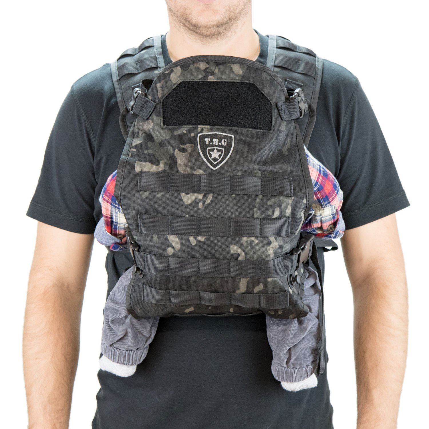 TBG Tactical Baby Carrier (Coyote Brown) Tactical Baby Gear