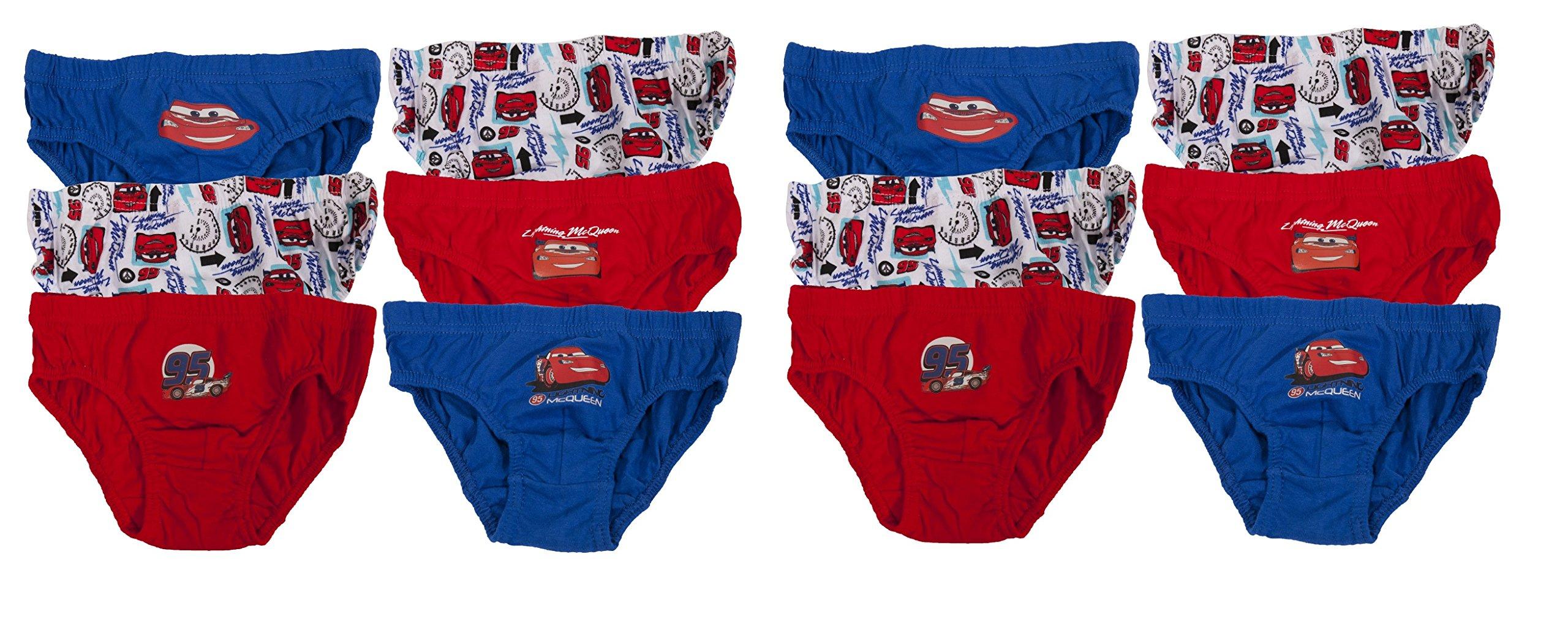 Boys Disney Cars Boxers Boxer Shorts Pants Underwear Trunks