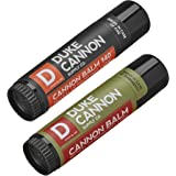 Duke Cannon Lip Balm with SPF Variety Set, Large 0.56oz: (1) Tactical Lip Protectant - Fresh Mint and (1) 140 Tactical…