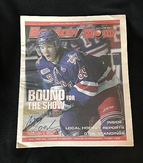 9c6ca9f379b83 Mikkel Boedker Signed Hockey Now Magazine Ontario Edition Kitchener Rangers  - Autographed NHL Magazines