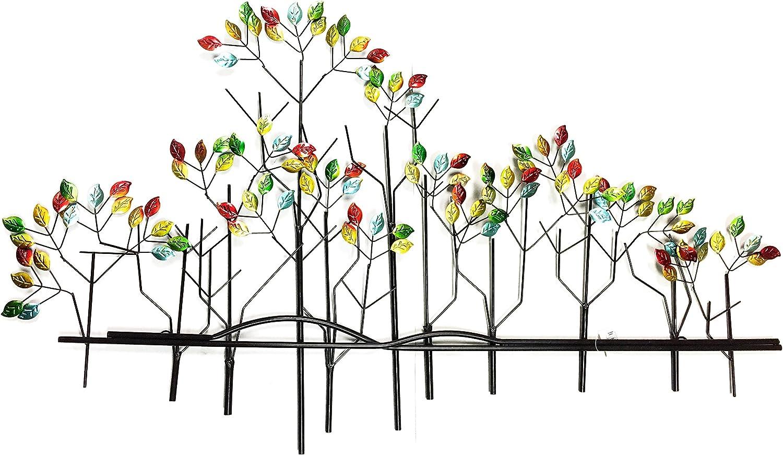 Bombayjewel Tree Of Life Metal Wall Art Sculptures Home Decor Brown Bronze Amazon Ca Home Kitchen