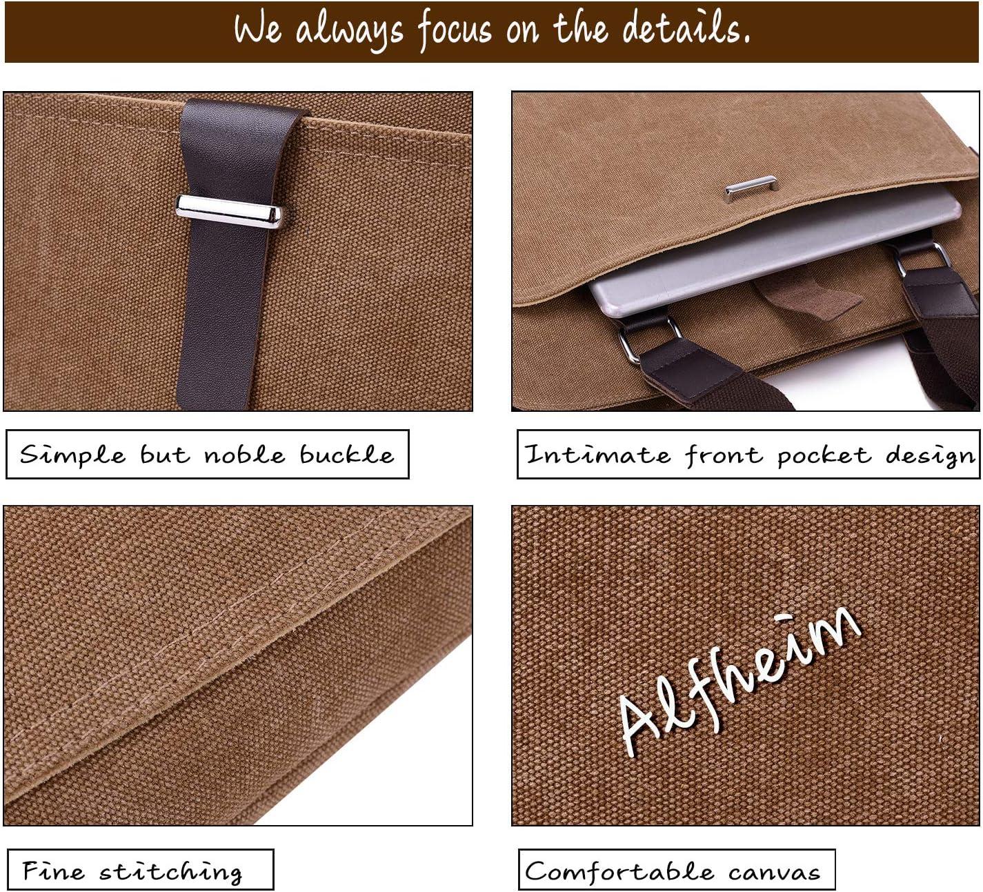 Cachi Borsa per Laptop da 14 Pollici Valigetta da Uomo,Tracolla Staccabile Resistente ai graffi,borsa per Moda//Casual//Shopping//Impermeabile//Affari//Studente//Viaggio