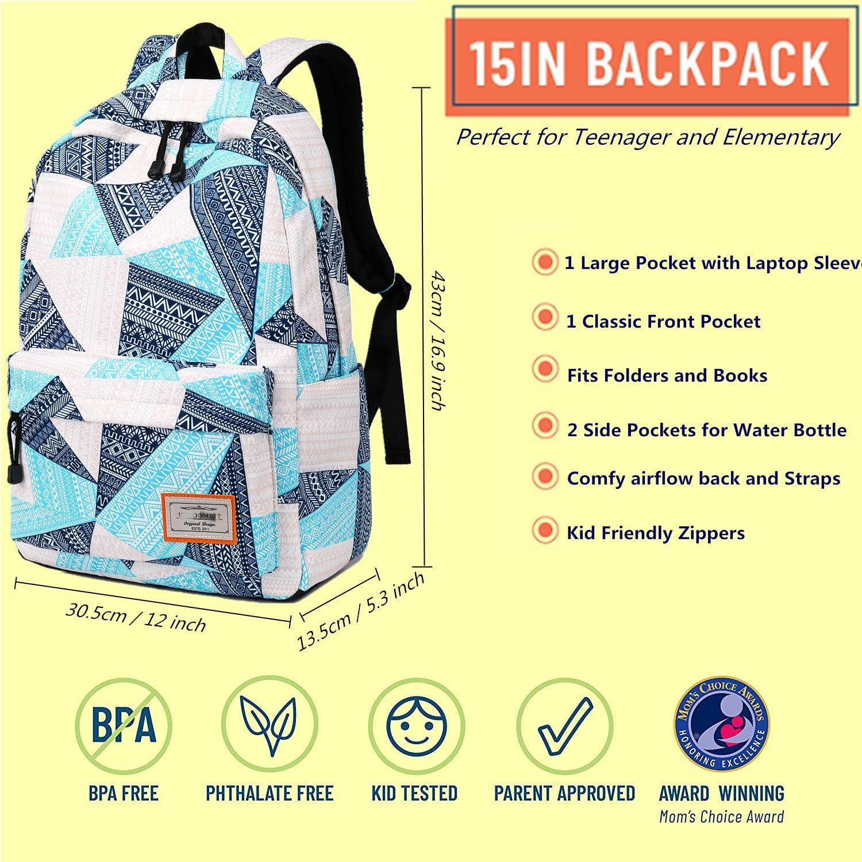 Chamomile Kids School Backpack Bookbag Schoolbag Casual Travel Laptop bag For Adult Teen Boys Girls