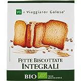 Il Viaggiator Goloso Bio, Sostitutivi del Pane Fette Biscottate Integrali Bio [confezione da 16]