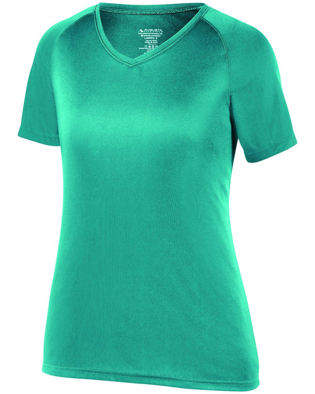 Augusta SportswearレディースAttain Wickingシャツ B073GFVCW2 Small ティール ティール Small