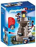 Playmobil 6680 Pirates Soldiers' Lookout with Working Beacon - Multi-Coloured