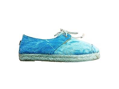 Paez Tides Laced Up - Alpargatas Mujer Denim Talla 35 EU/2.5 UK: Amazon.es: Zapatos y complementos