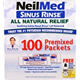 NeilMed Original Sinus Rinse Kit with Premixed Sachets