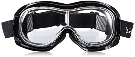9f81d8c2c4a Image Unavailable. Image not available for. Color  Pacific Coast Airfoil  Padded  Fit Over Glasses  Riding Goggles (Black Frame Clear