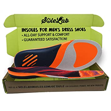 Amazon Com Insoles For Mens Dress Shoes Full Length Comfort