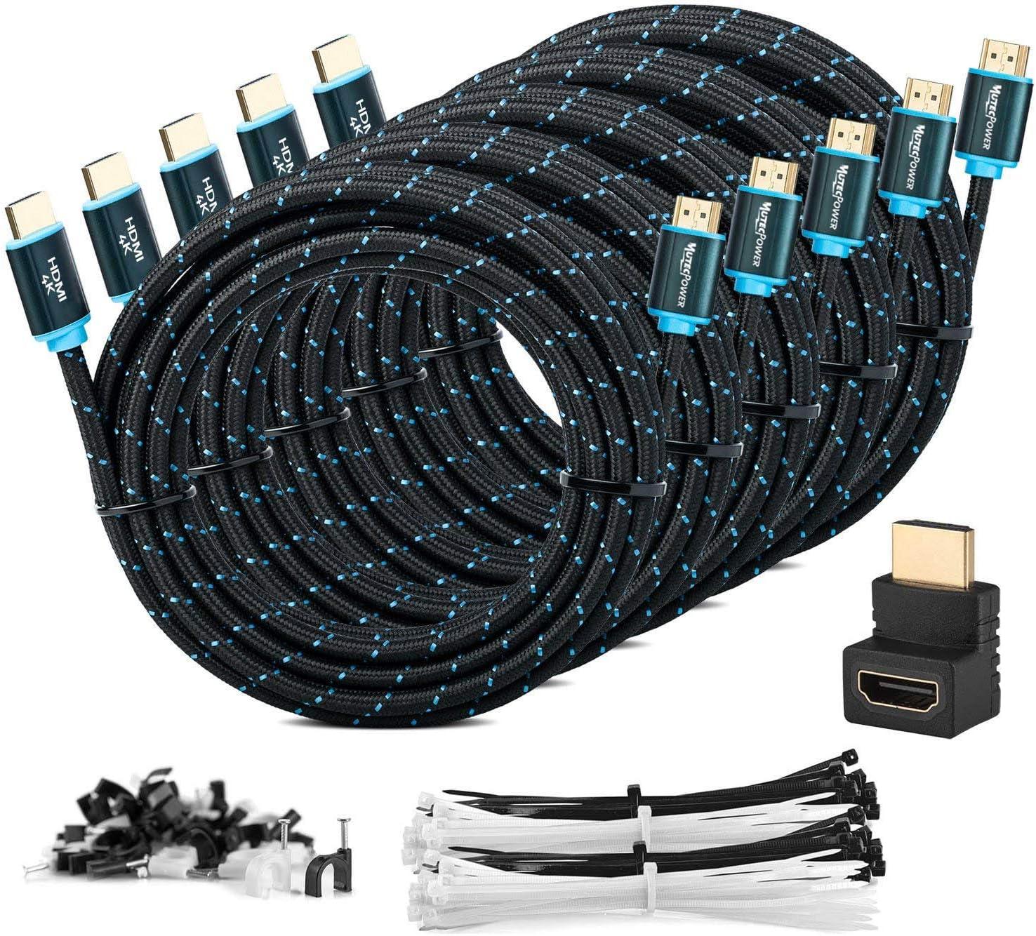MutecPower 5 Piezas 5m Cable HDMI 2.0: Amazon.es: Electrónica