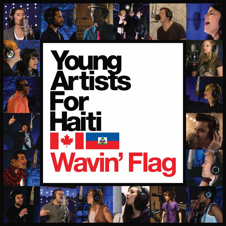 Young Artists For Haiti  Wavin Flag 3ZFOn