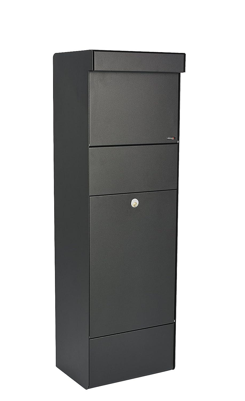Noir Allux Grundform F47394 XXL Grande Bo/îte /à Colis et Lettres 1100 x 345 x 280 mm