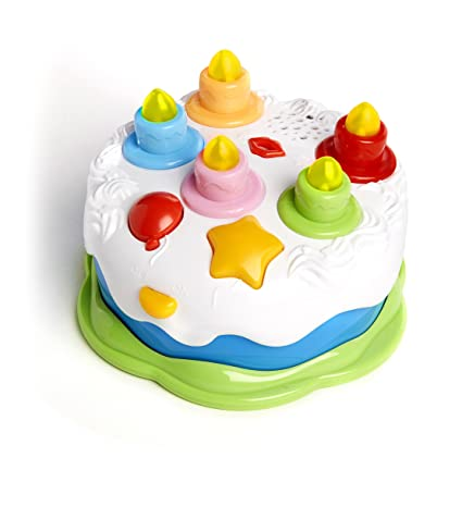 Twinkle Me Musical Birthday Cake Toy