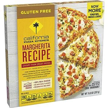 california pizza kitchen gluten free margherita frozen pizza 11 8 oz rh amazon com california kitchen frozen pizza instructions california kitchen frozen pizza nutrition facts