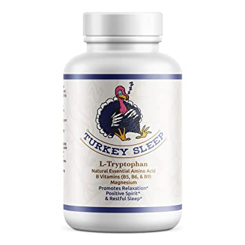 Boost Serotonin and Melatonin Levels Naturally for DEEP Sleep! - Only Tryptophan Supplement with Vitamins