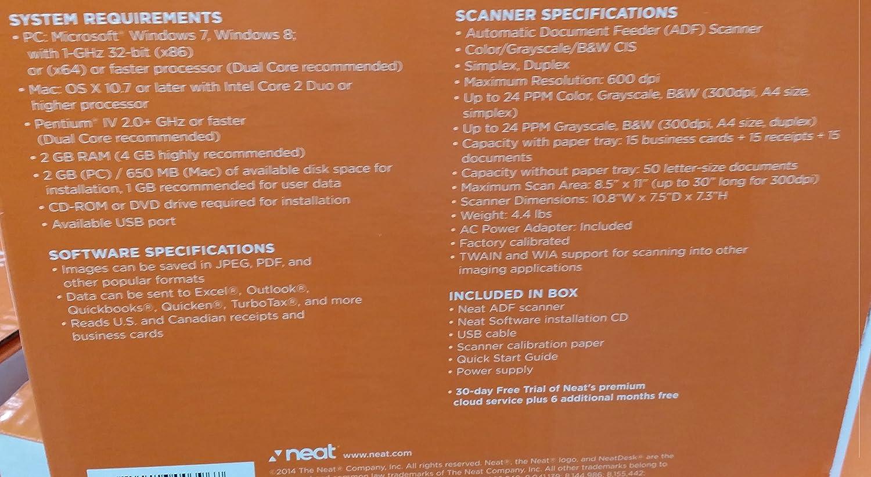 Amazon.com: NeatDesk Plus Desktop Scanner + Digital Filing System ...