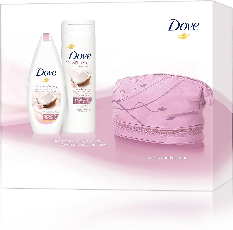 Dove Set de regalo con cuidado ducha, bodylotion Plus Estuche para dama: Amazon.es: Belleza