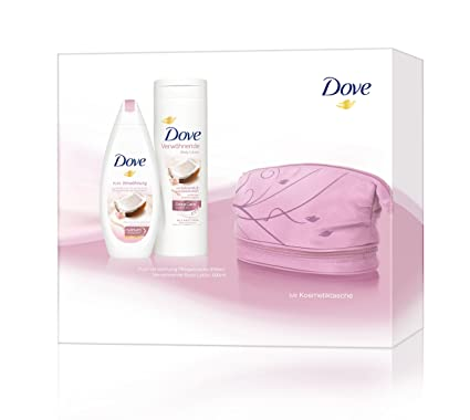 Dove Set de regalo con cuidado ducha, bodylotion Plus ...