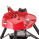 Mophorn 6inch Tripod Pipe Chain Vise Stand Portable Pipe Tripod Stand Chain Vise Heavy Duty Pipe Stand Tripod fit RIDGID 460 460-6 72037 36273
