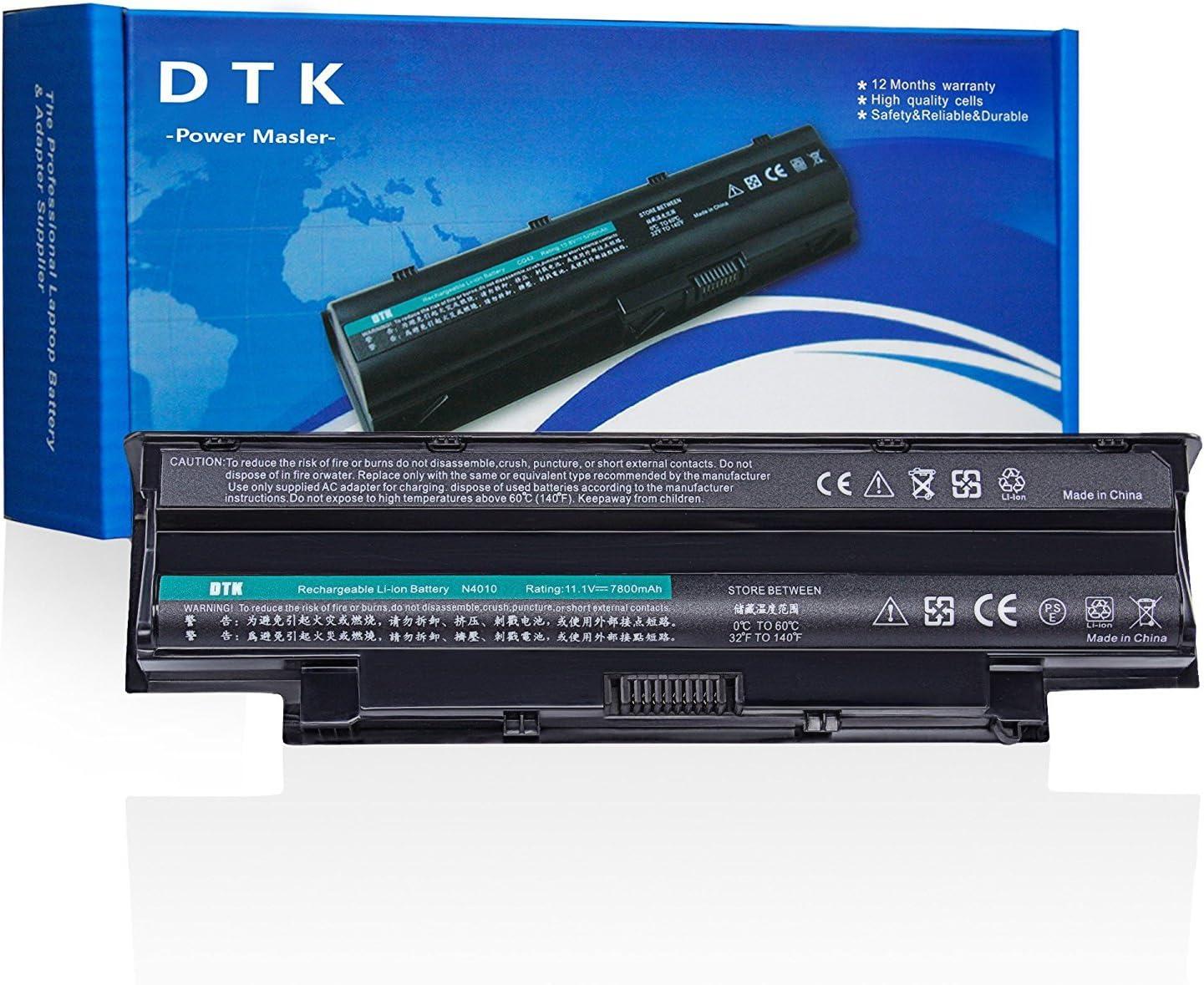 DTK/® Nueva Port/átil Bater/ía de Repuesto para Dell Inspiron 3420 3520 13r 14r 15r 17r N3010 N3110 N4010 N4050 N4110 N5110 N5010 N5030 N5040 N5050 M5110 M5010 M4110 M501,P//N J1knd 4t7jn 9-cell 6600mah