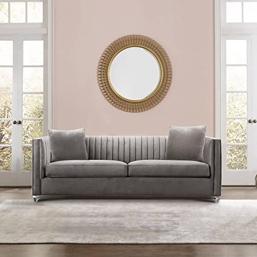 Armen Living LCEP3BG Emperor Contemporary Sofa