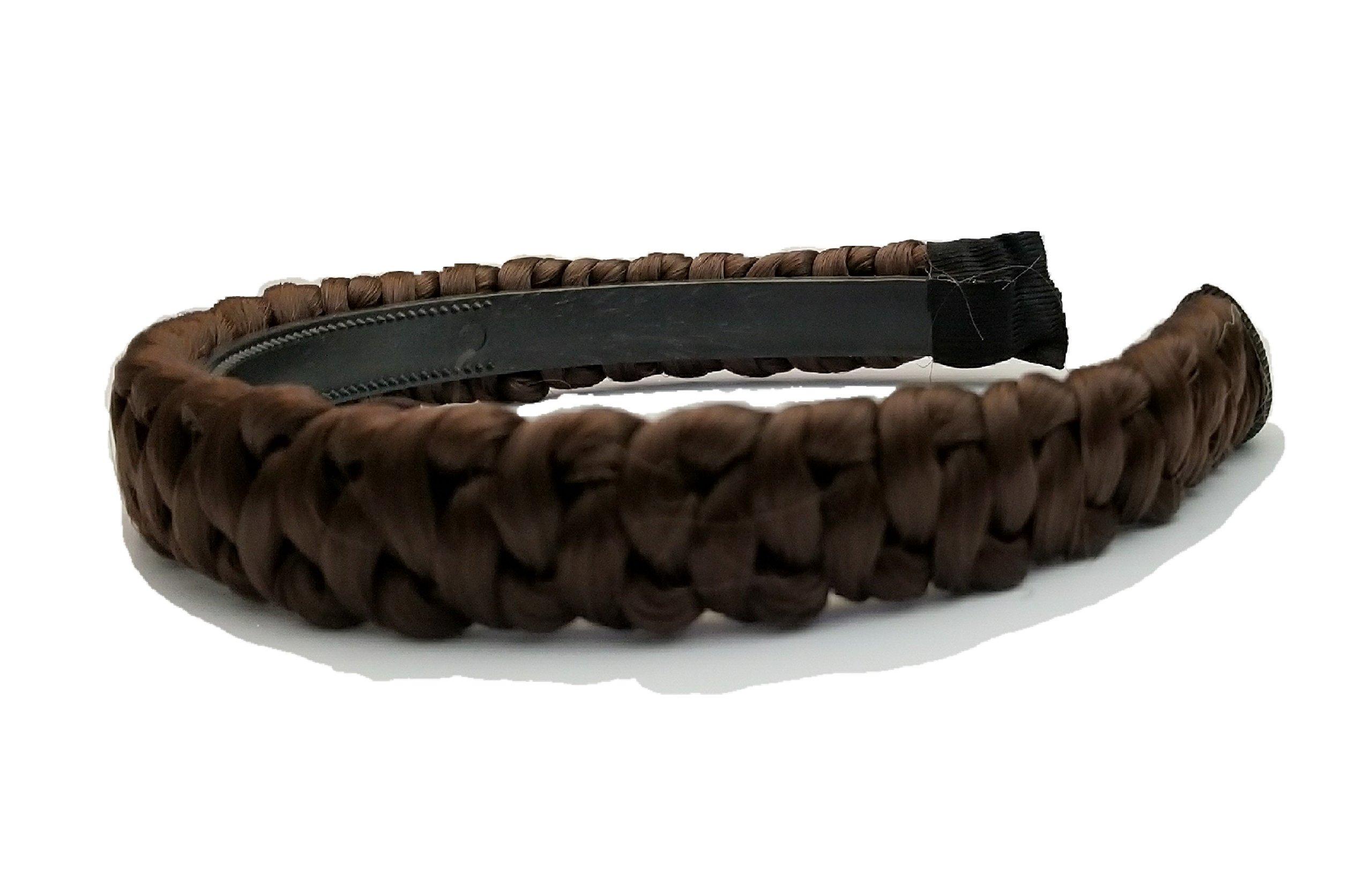 Galleon - 4 Strand Plait Braided Hard Headband Hair Bands