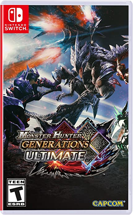 Amazon Monster Hunter Generations Ultimate Nintendo Switch