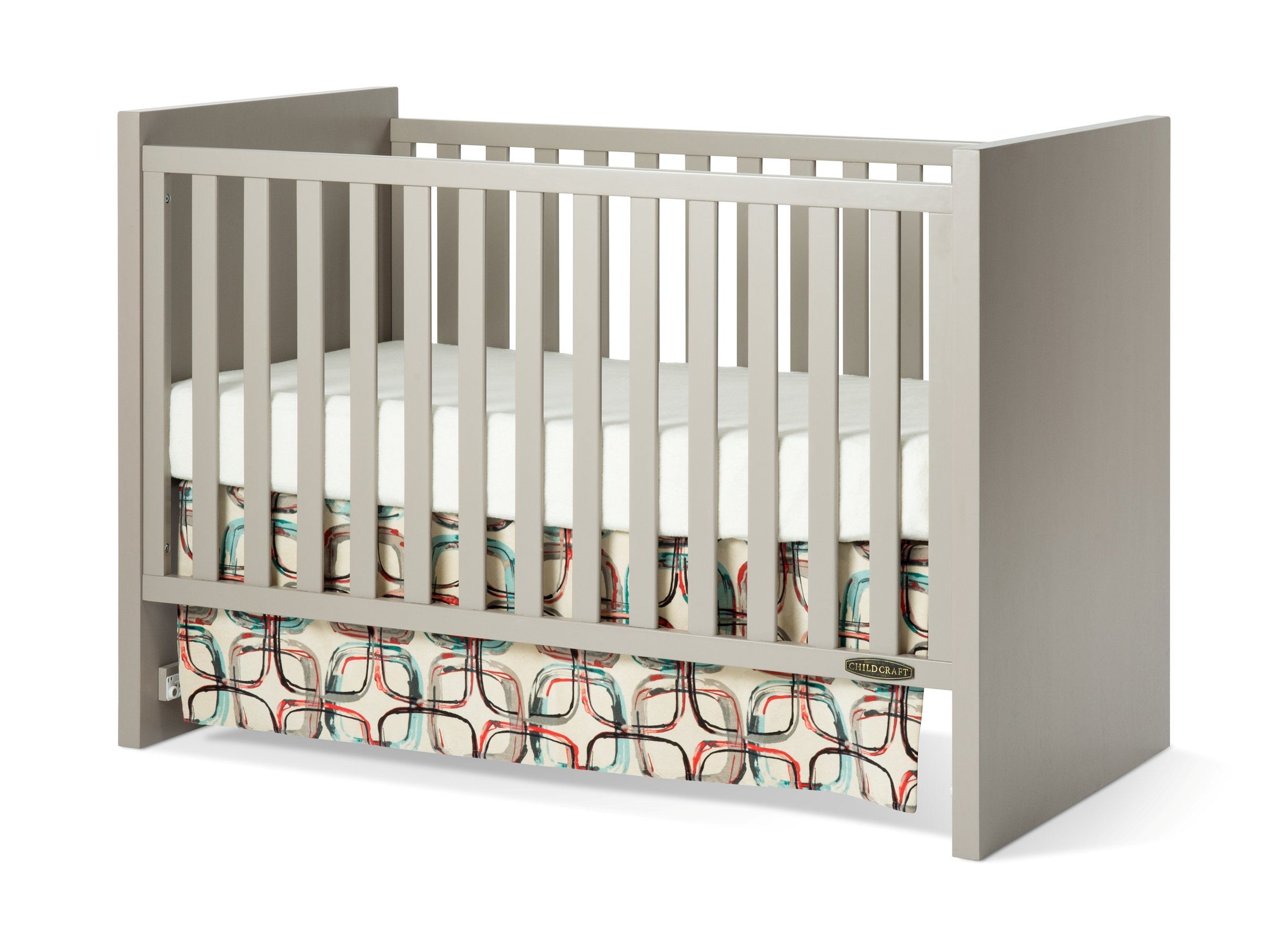 Child Craft Loft 3-in-1 Traditional Crib, Potters Clay