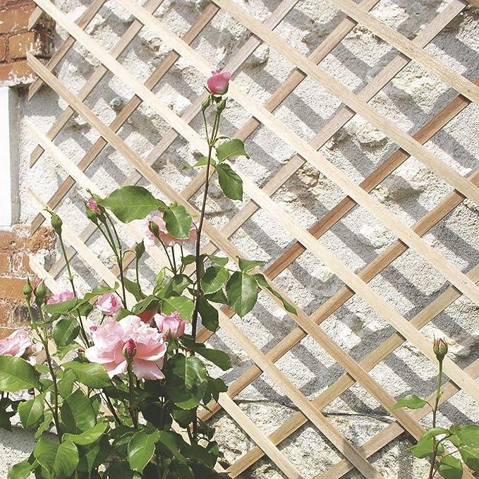 intermas 170221 Celosía de Madera, Marrón, 25x2x100 cm: Amazon.es: Jardín