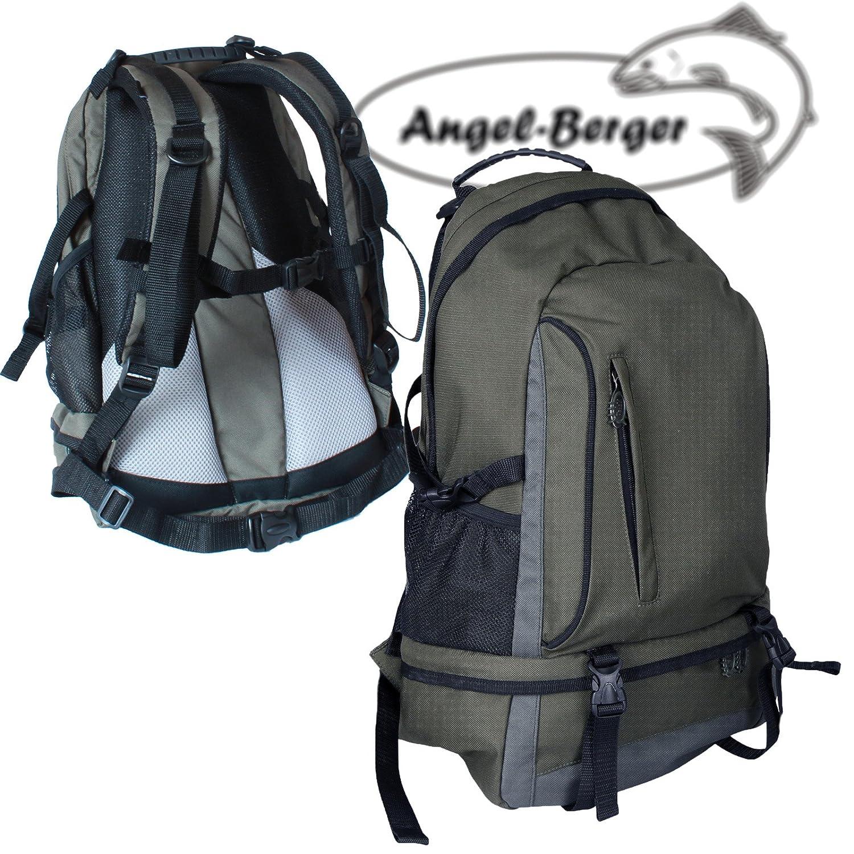 Angel Rucksack Angler Rucksack 35 l Atmungsaktive Polsterung Angelshop Berger