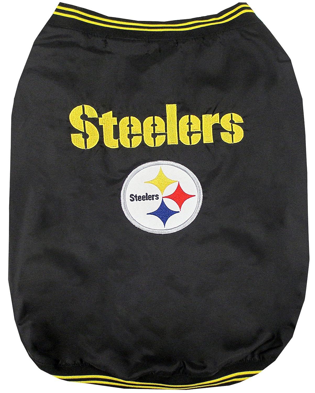 Medium Pets First Pittsburgh Steelers Jacket, Medium