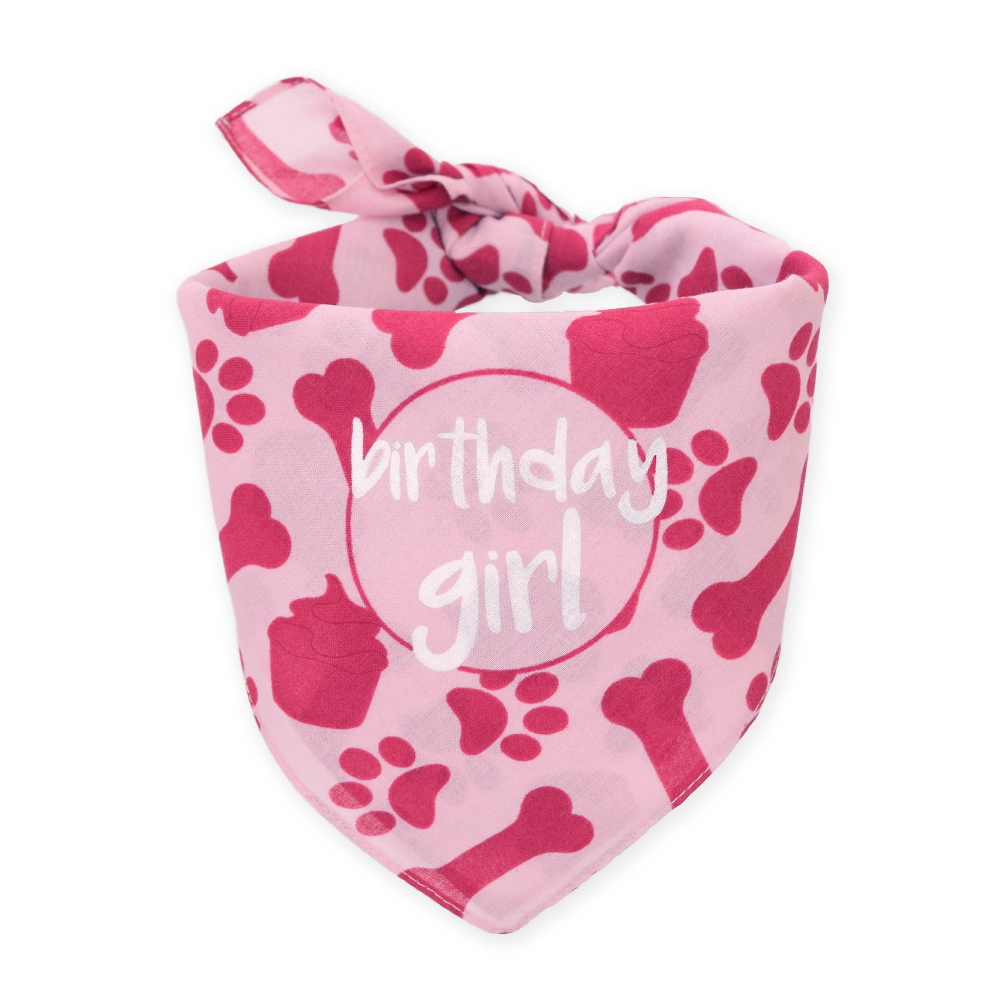 Hecho Dog Birthday Bandana - Girl