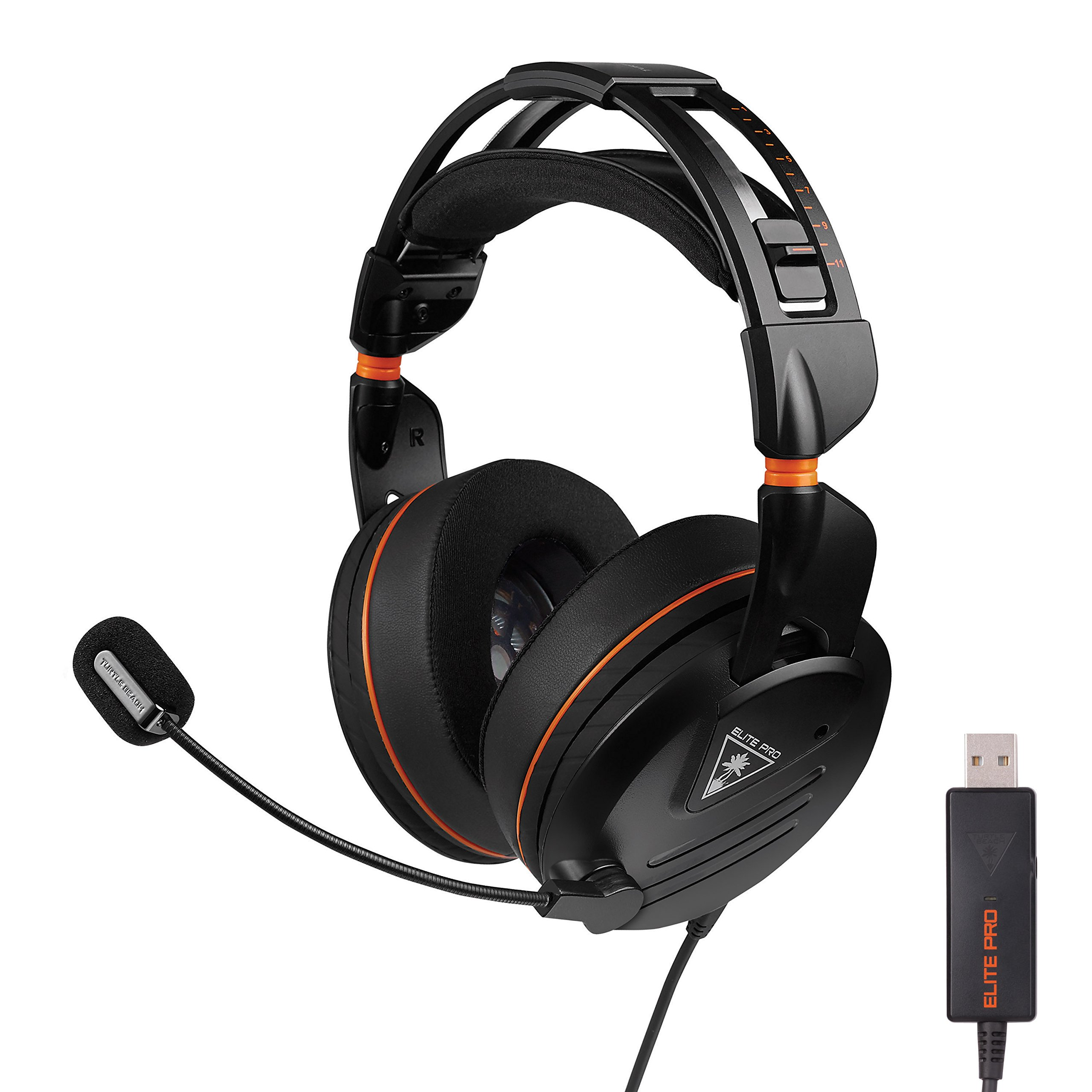 Elite Pro Professional Surround Sound Gaming Headset - PC Edition - PC, PS4, PS4 Pro, Xbox One, and Mobile Gaming