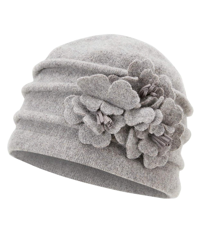 Joe Browns Womens Vintage Style Felted Wool Cloche Hat HA774