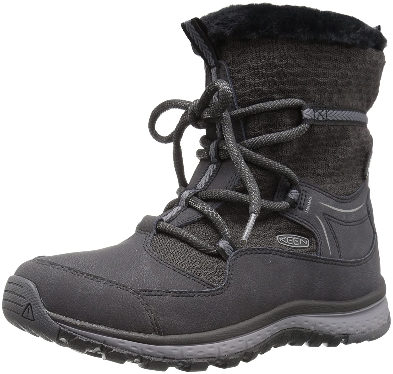 KEEN Women's Terradora Apres Wp-w Hiking Boot B01MYO8LB4 7.5 B(M) US|Black/Magnet