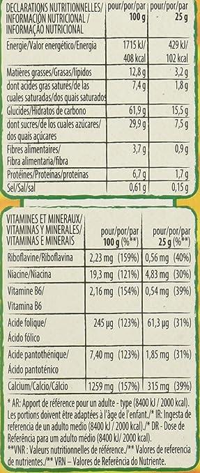 Nestlé 1664608_16 Golden Grahams Barritas de cereales tostados con leche, 25 gr, Paquete de 8 x 6 unidades (2.4 kg): Amazon.es: Alimentación y bebidas