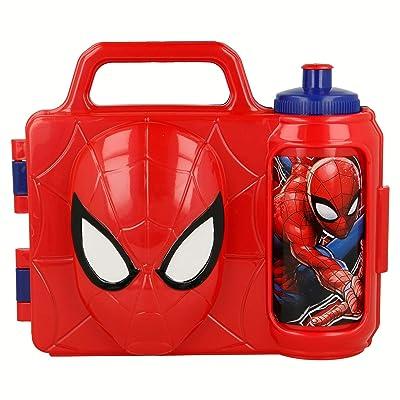 Spider-Man-ST-59495 Combo Set Merienda 3D, STOR ST-59495: Juguetes y juegos