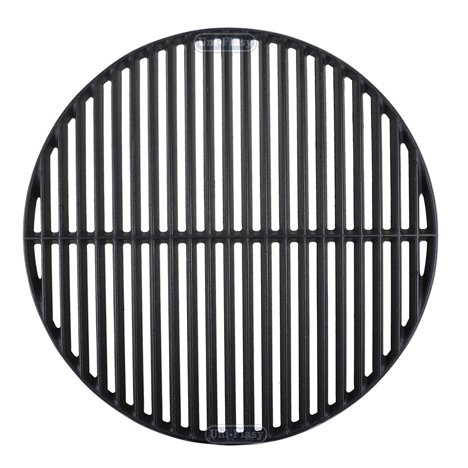 Uniflasy Cast Iron Cooking Grid Grates Replacement Parts for Large Big Green Egg, Vision Grill VGKSS-CC2, B-11N1A1-Y2A Accessories