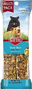 Kaytee Forti Diet Pro Health Hamster Treat Stick, Honey, 8-Ounce
