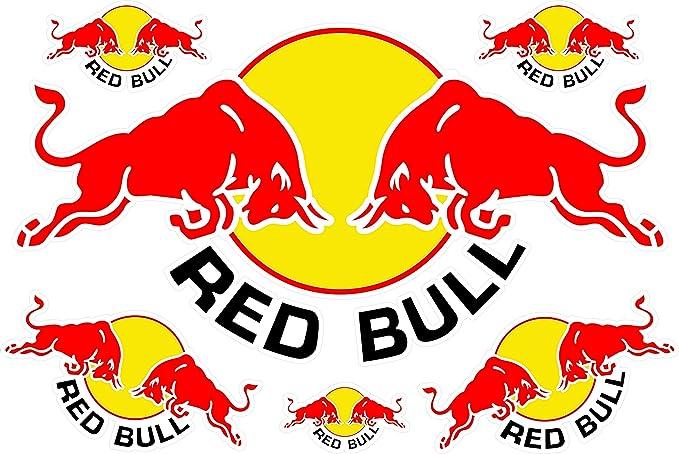 Red Bull Aufkleber Set Auto