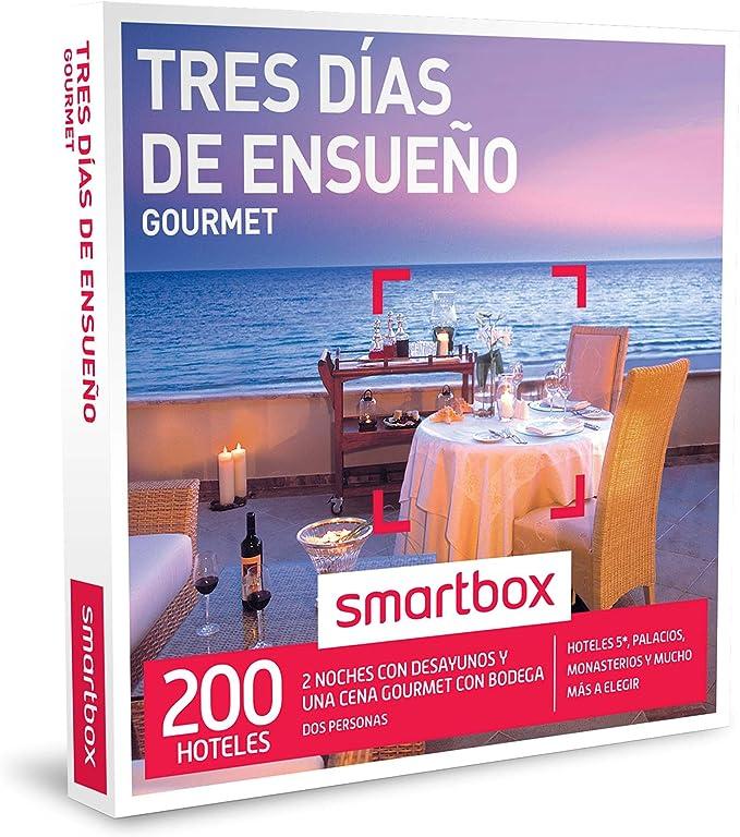 SMARTBOX - Caja Regalo - TRES DÍAS DE ENSUEÑO GOURMET - 200 ...