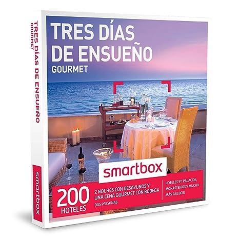 SMARTBOX - Caja Regalo - TRES DÍAS DE ENSUEÑO GOURMET - 200 exclusivos hoteles de hasta