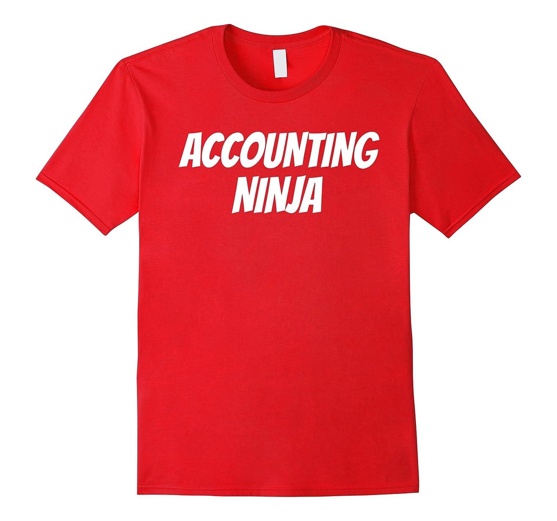ACCOUNTING NINJA Funny Math Numbers Job T-Shirt Halloween-TJ